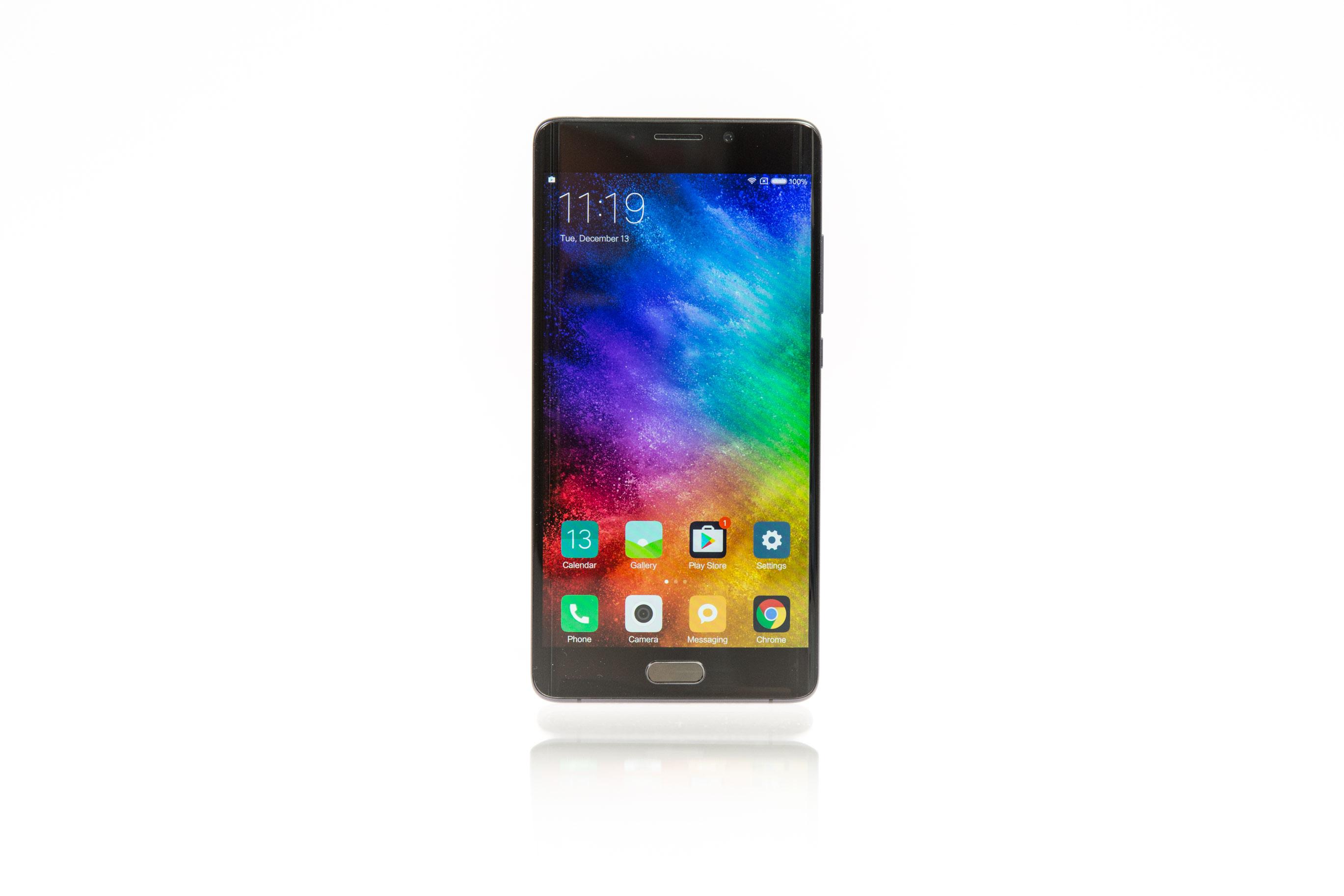 Xiaomi Mi Note 2 im Test: Ein Smartphone mit Ecken ohne Kanten - Das Mi Note 2 von Xiaomi (Bild: Martin Wolf/Golem.de)