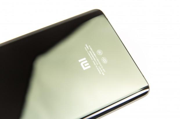 Die gläserne Rückseite des Mi Note 2 (Bild: Martin Wolf/Golem.de)