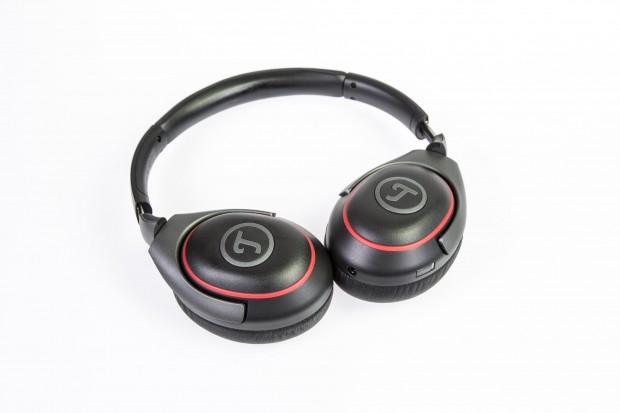 Der Teufel Mute ist mit 130 Euro der günstigste Noise-Cancelling-Kopfhörer in unserem Testfeld. (Foto: Martin Wolf/Golem.de)