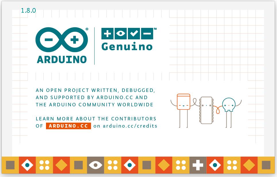 Arduino IDE: Version 1.8 beendet Nutzerverwirrung - Arduino-IDE 1.8 Splashscreen (Screenshot: Alexander Merz/Golem.de)