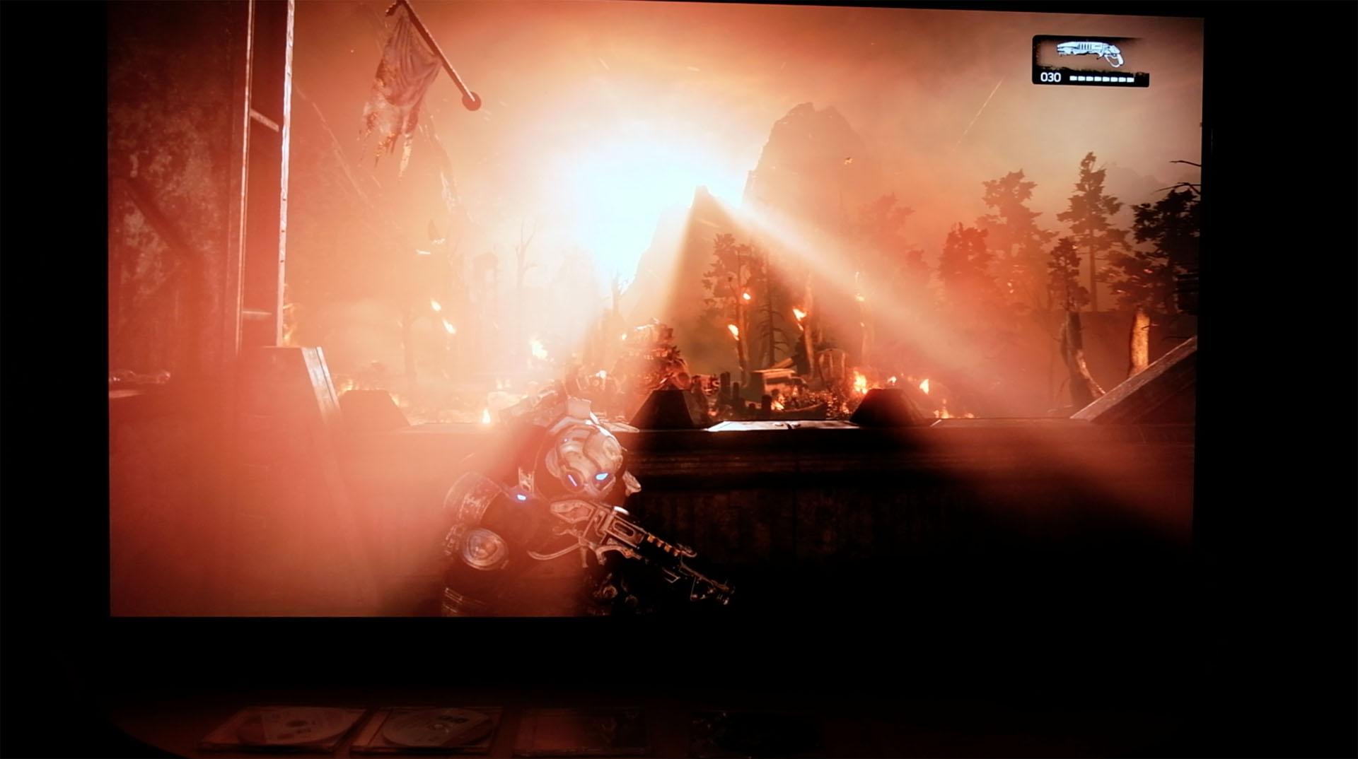 Spielen mit HDR ausprobiert: In den Farbtopf gefallen - Gears of War 4 (HDR)