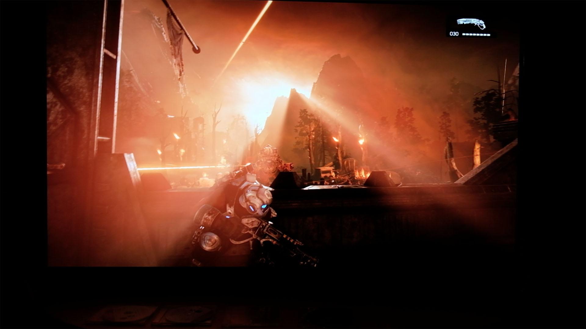 Spielen mit HDR ausprobiert: In den Farbtopf gefallen - Gears of War 4 (SDR)