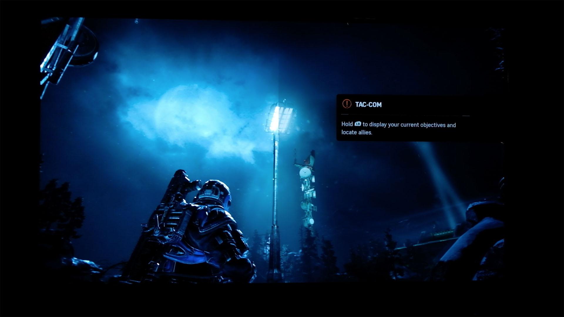 Spielen mit HDR ausprobiert: In den Farbtopf gefallen - Gears of War 4 (Splitscreen-Modus im Spiel)