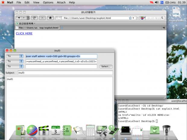 Redstar OS lässt sich recht leicht austricksen. (Bild: Hacker House)