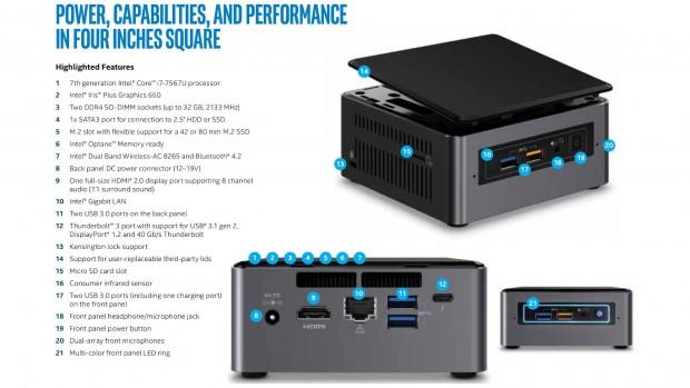 NUC7i7BNH (Bild: Intel)