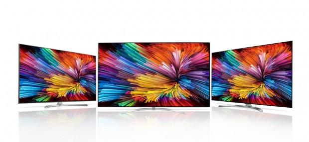 LGs neue Fernseher mit Nano-Cell-Technologie (Bild: LG)