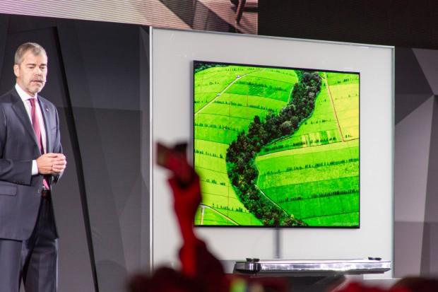Der Signature OLED TV W7 von LG (Bild: Martin Wolf/Golem.de)