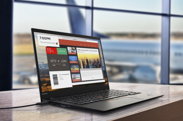Thinkpad X1 Carbon v5 (Bild: Lenovo)