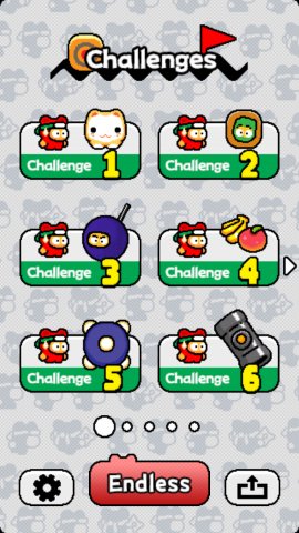 Ninja Spinki Challenges (Screenshot: Golem.de)