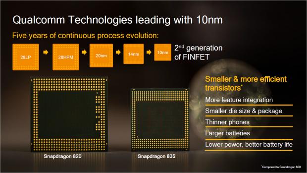 Der SD835 wird im 10LPE-Verfahren gefertigt (Bild: Qualcomm)