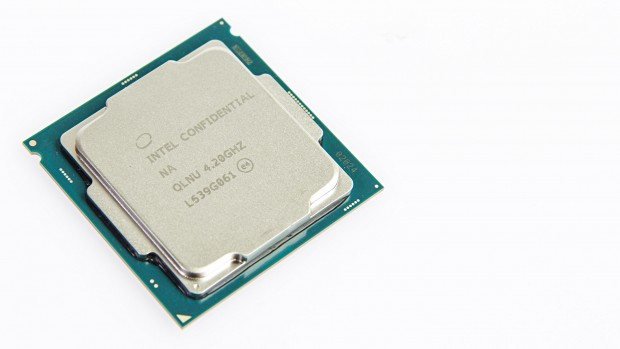 Intel hat ein Qualification Sample geschickt. (Foto: Martin Wolf/Golem.de)