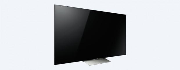 Sonys XD93 arbeitet mit einem zentralen schweren Standfuß. (Bild: Sony)