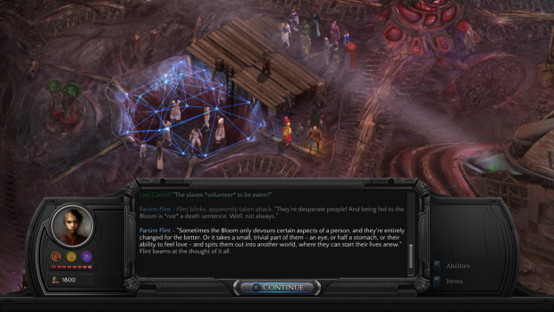 Torment - Tides of Numenera (Bild: Inxile Entertainment)