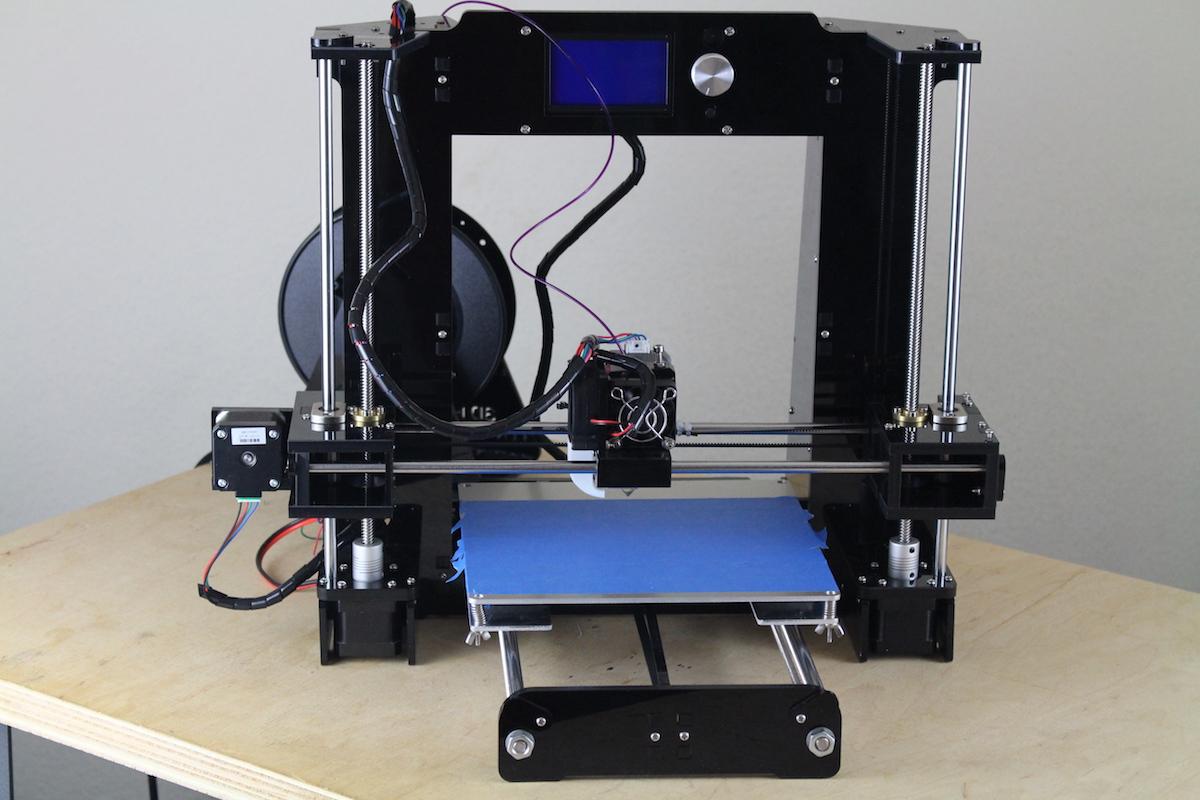 Anet A6 im Test: Wenn ein 3D-Drucker so viel wie seine Teile kostet - Der zusammengebaute Anet A6 (Bild: Alexander Merz/Golem.de)