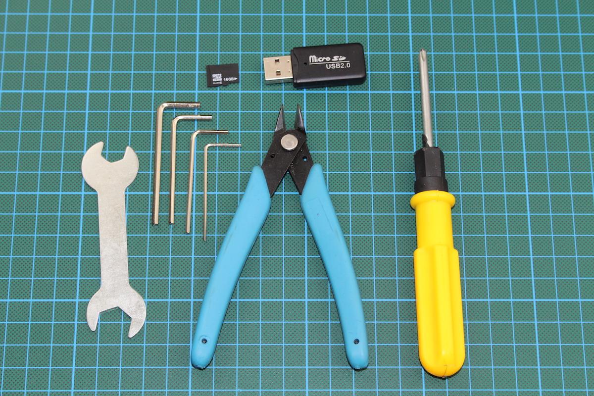 Anet A6 im Test: Wenn ein 3D-Drucker so viel wie seine Teile kostet - Wenigstens liegen alle erforderlichen Werkzeuge bereit. (Bild: Alexander Merz/Golem.de)
