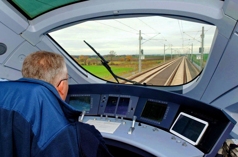 Autonomes Fahren: Wenn die Strecke dem Zug ein Telegramm schickt -