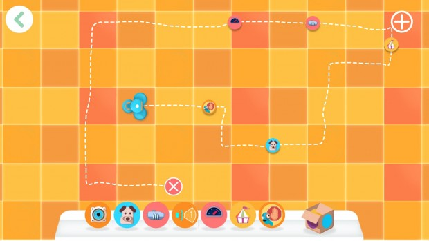 Mit der App Path können wir Dash einen Weg vorgeben und Ereignisse dabei auslösen. (Bild: Alexander Merz/Golem.de)