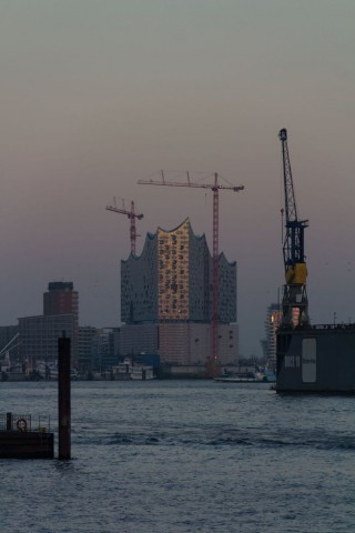 Die Elbphiharmonie in Hamburg. (Foto: Werner Pluta/Golem.de)