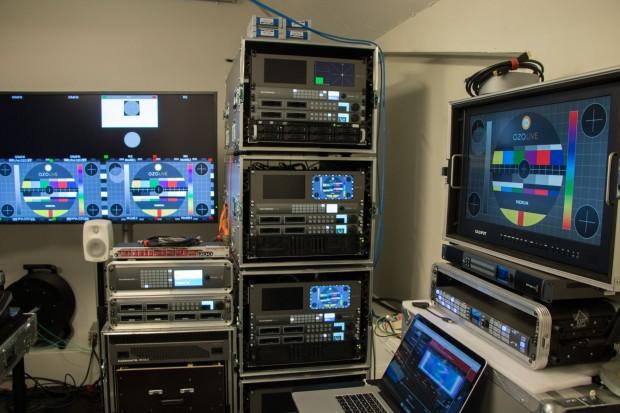 Für jede der Kameras gibt es einen eigenen Stitching-Server, ... (Foto: Werner Pluta/Golem.de)