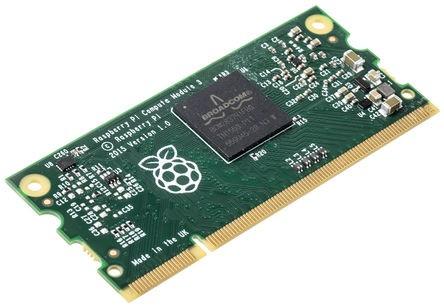 Compute Module 3 - Front (Bild: RS Components)