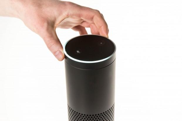 Die Echo-Lautstärke kann händisch mit einem Drehring eingestellt werden. (Bild: Martin Wolf/Golem.de)