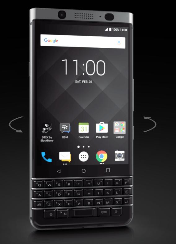 Blackberry Keyone im Hands on: Android-Smartphone mit toller Hardware-Tastatur - Blackberry Key One (Bild: TCL)