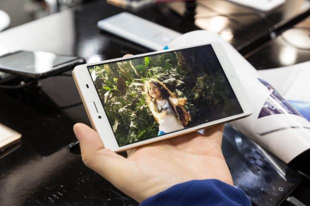 Das Doogee Y6 Max 3D, ein 6,5-Zoll-Smartphone mit stereoskopischem Display (Bild: Martin Wolf/Golem.de)