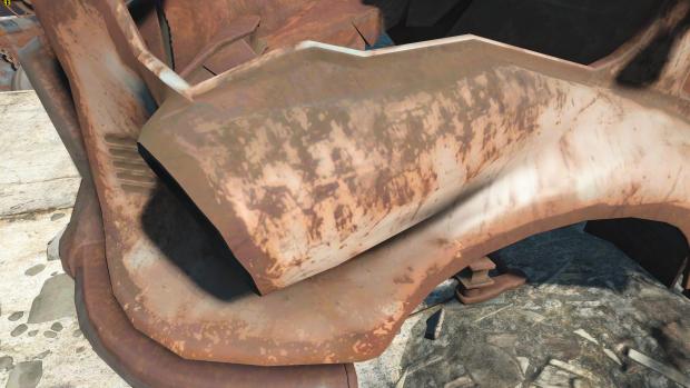 Fallout 4 mit Hi-Res-Texturen (Screenshot: Golem.de)