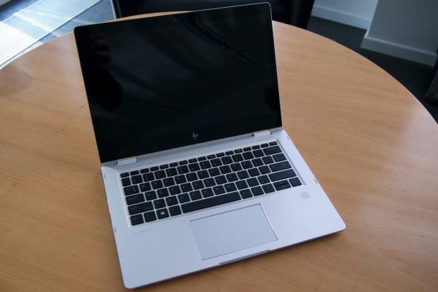 Das Elitebook x360 1030 G3 wird zukünftig das Business-Convertible sein. (Foto: Andreas Sebayang/Golem.de)