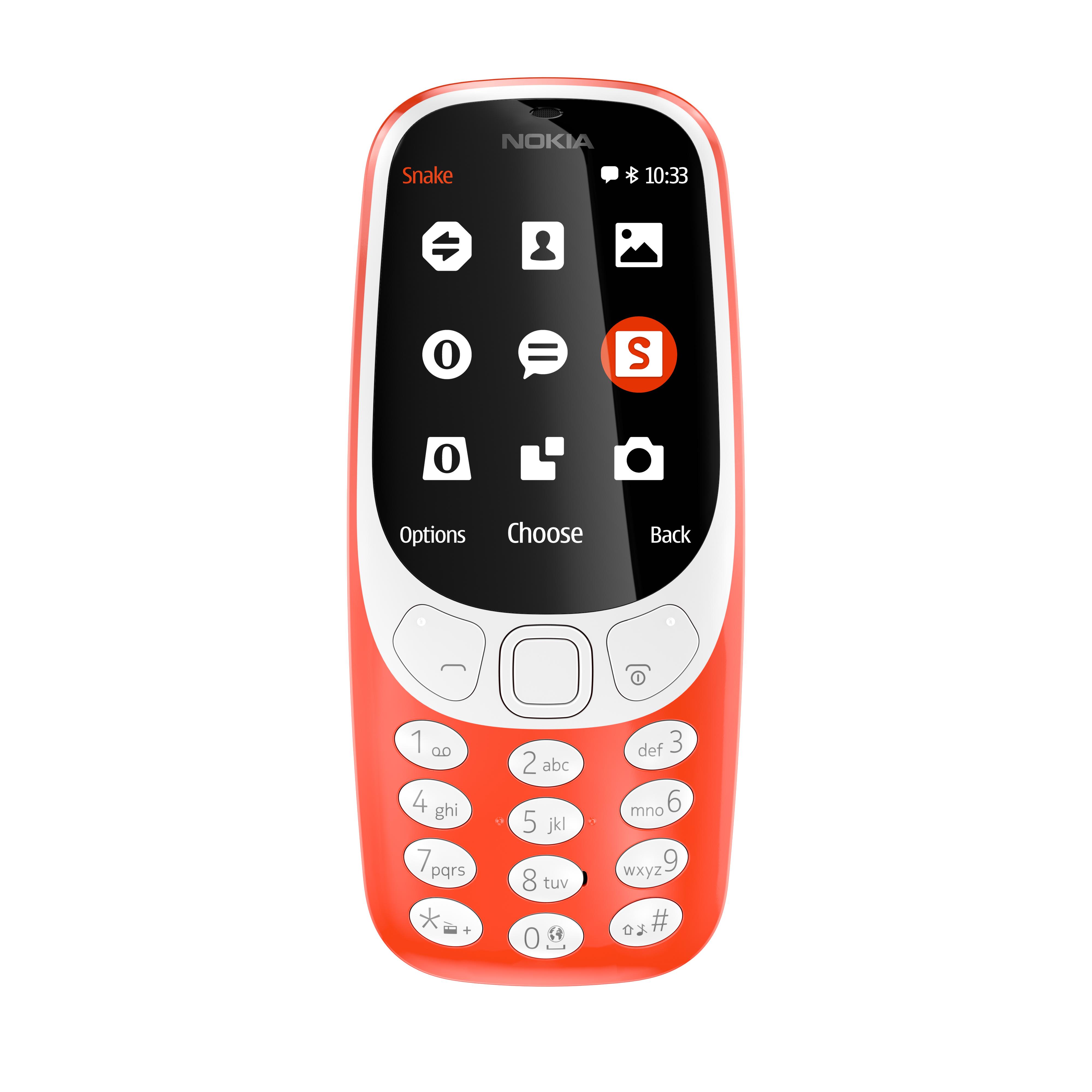 Handy-Klassiker: HMD Global bringt das Nokia 3310 zurück - Das neue Nokia 3310 (Bild: HMD Global)