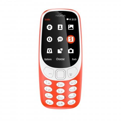 Das neue Nokia 3310 (Bild: HMD Global)