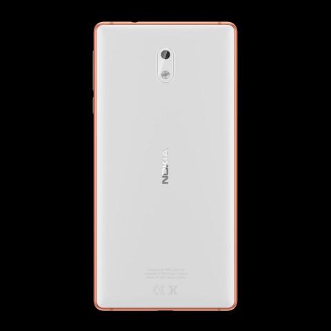 Das Nokia 3 in Weiß (Bild: HMD Global)