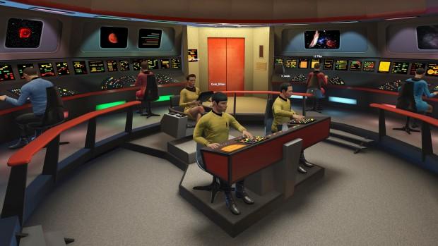 So sieht die Brücke der USS Enterprise NCC-1701 in Bridge Crew aus. (Bild: Ubisoft)