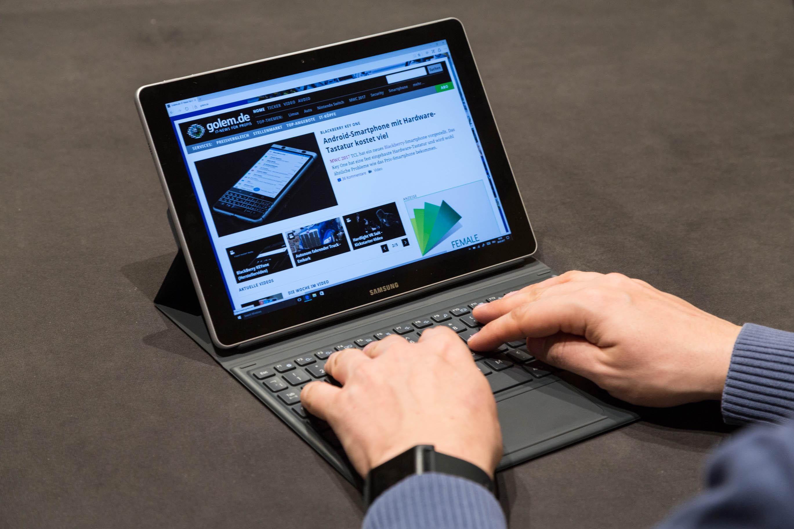 Galaxy Book im Hands on: Samsung bringt neuen 2-in-1-Computer -