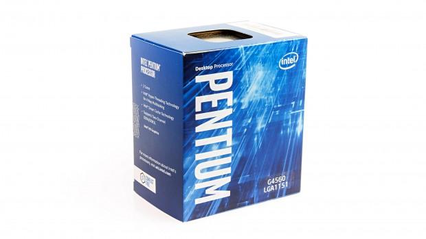 Boxed-Packung von Intels Pentium G4560 (Foto: Martin Wolf/Golem.de)