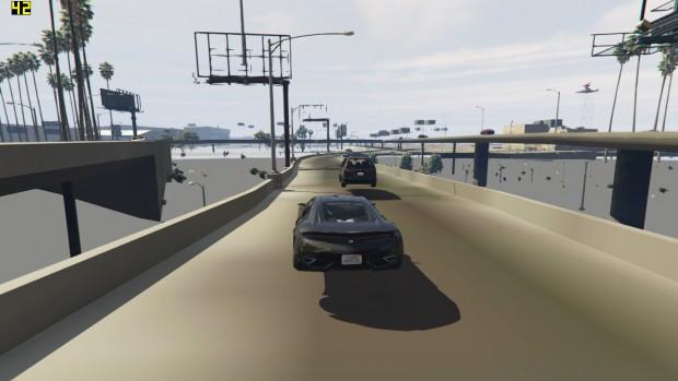 So sieht GTA 5 auf einem Dualcore ohne SMT aus (Screenshot: Golem.de)