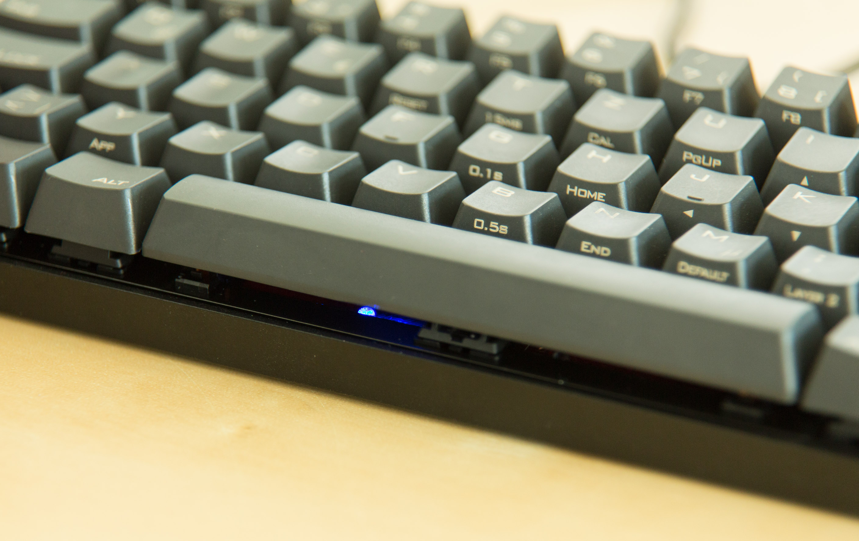 """Mechanische Tastatur Poker 3 im Test: """"Kauf dir endlich Dämpfungsringe!"""" - Die Keycaps der Poker 3 sind aus dickem PBT. (Bild: Martin Wolf/Golem.de)"""
