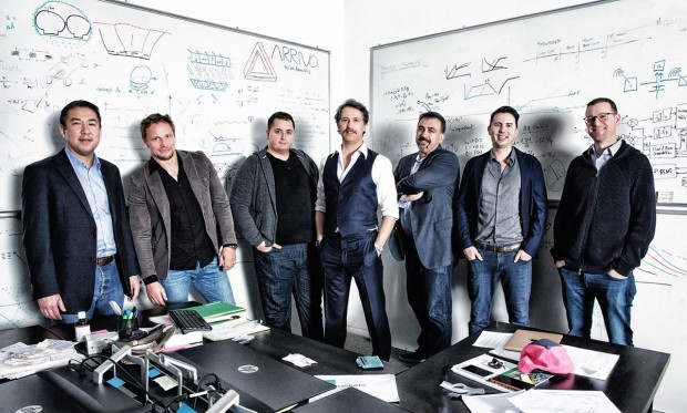 Die sieben Gründer von Arrivo (Foto: Arrivo)