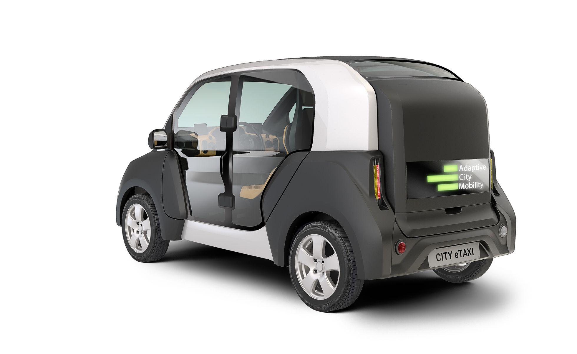 City E-Taxi: Ein Elektrotaxi mit Durchblick -
