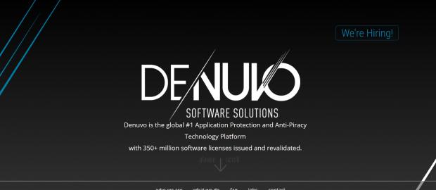 Die Webseite von Denuvo bewirbt das Produkt. (Screenshot: Golem.de)