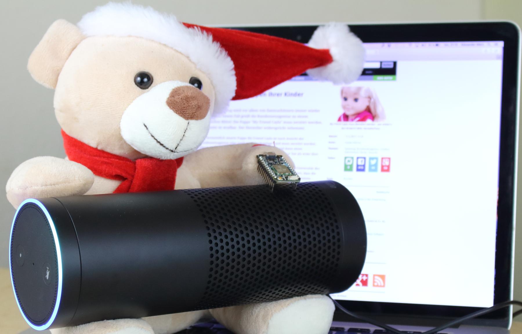 Bundesnetzagentur: Puppenverbot gefährdet das Smart Home und Bastler - Aus Sicht der Bundesnetzagentur sollten wir von einer derartigen Kombination die Finger lassen. (Bild: Alexander Merz/Golem.de)