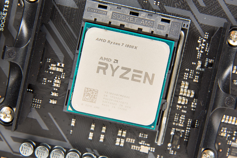 """Ryzen 7 1800X im Test: """"AMD ist endlich zurück"""" - Ryzen 7 1800X (Foto: Martin Wolf/Golem.de)"""