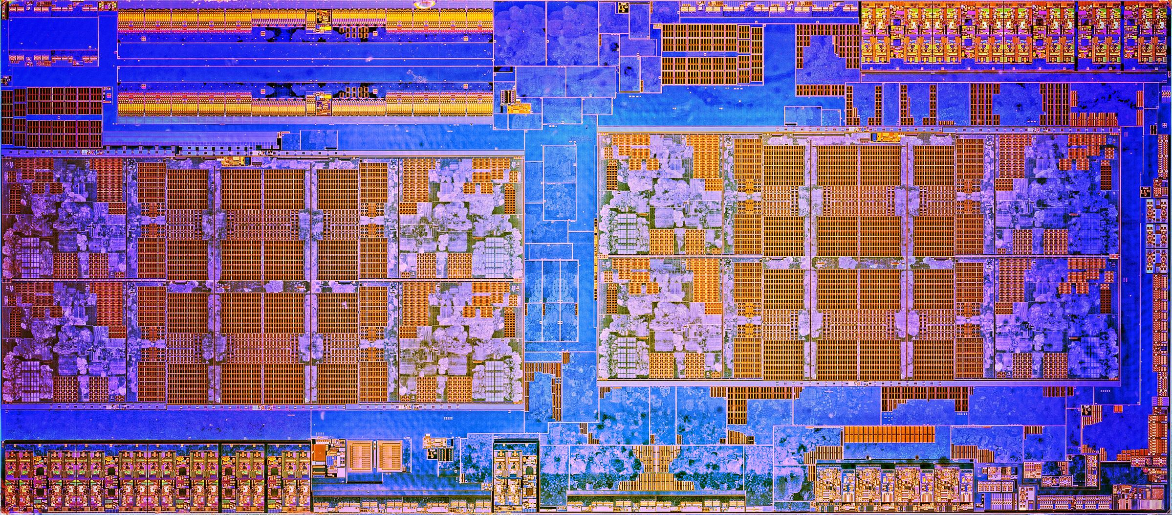 """Ryzen 7 1800X im Test: """"AMD ist endlich zurück"""" - Die-Shot von Zeppelin (Bild: AMD)"""
