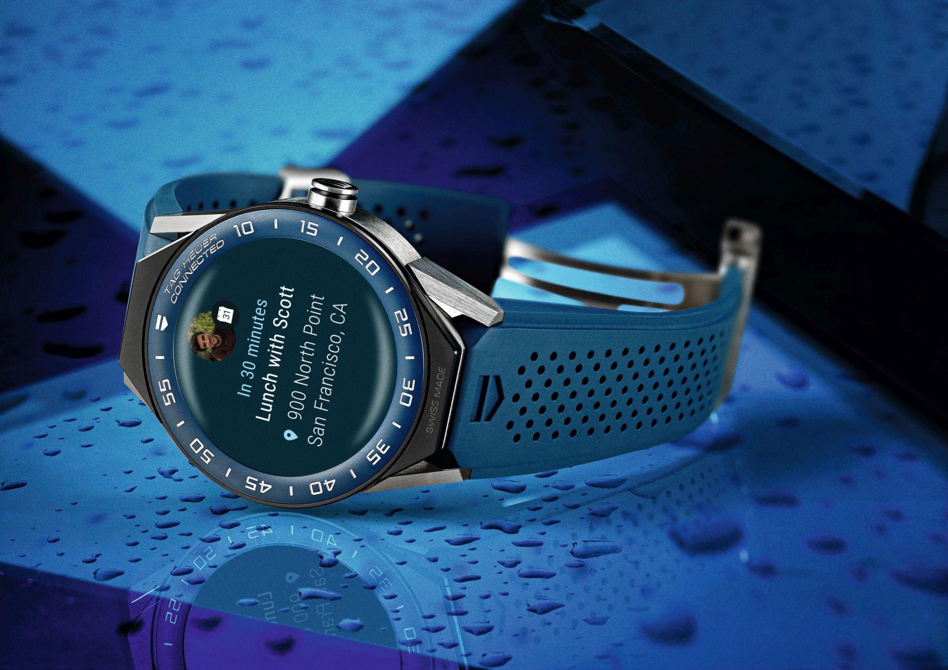 Connected Modular 45: Tag Heuers neue Smartwatch kommt mit mechanischem Uhrwerk - Die Connected Modular 45 von Tag Heuer (Bild: Tag Heuer)