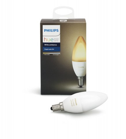 kerzenlampen philips bringt hue e14 lampen auf den markt. Black Bedroom Furniture Sets. Home Design Ideas