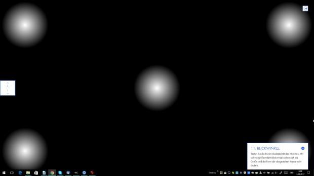 Das Tool zum Testen der Blickwinkelstabilität (Screenshot: Golem.de)
