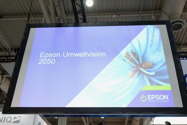 Epson will die Paperlab als umweltfreundlich vermarkten. (Bild: Michael Wieczorek/Golem.de)