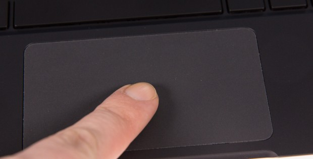... im Gegensatz zum sehr schlechten Touchpad. (Bild: Martin Wolf/Golem.de)