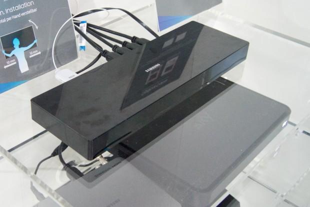 Die neue One Connect Box hat einen Glasfaser-Anschluss. (Foto: Andreas Sebayang/Golem.de)