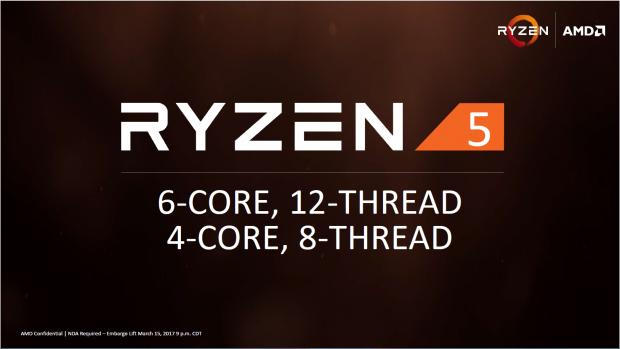 Die Ryzen-5-Familie umfasst Hexa- und Quadcores (Bild: AMD)